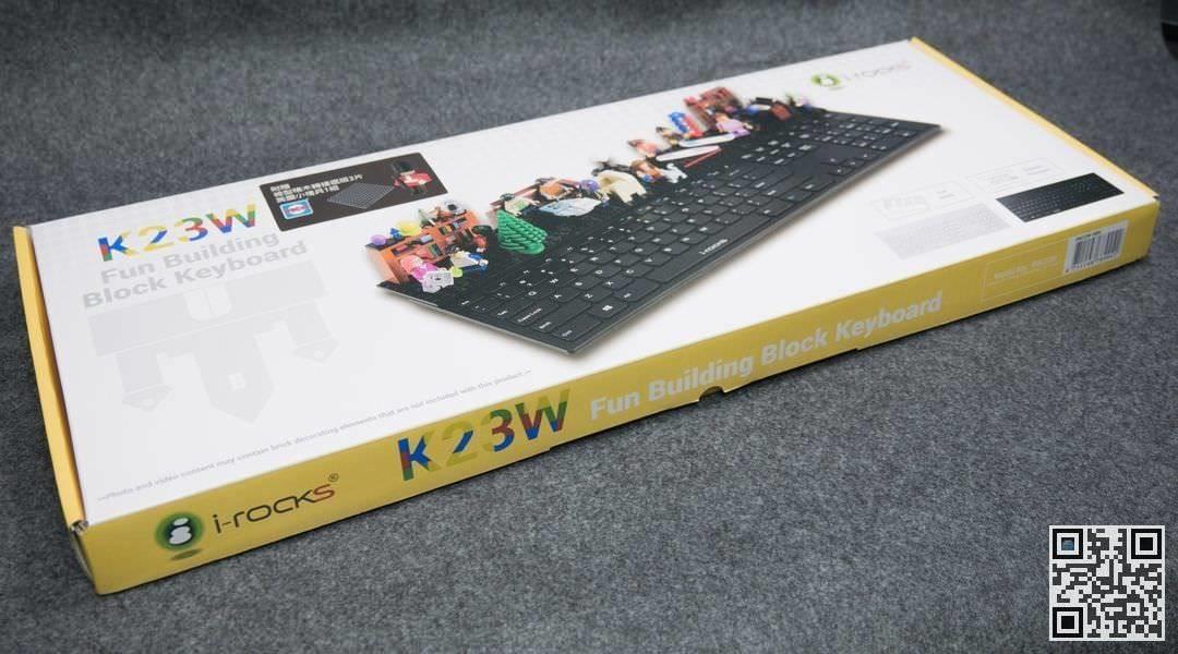 是[開箱] i-rocks K23W 創意積木鍵盤,擺脫你對鍵盤的刻板印象這篇文章的首圖
