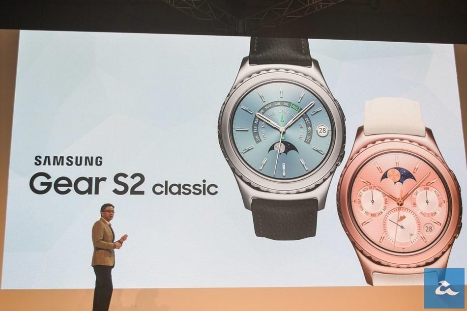 是18K粉紅金以及白金版Gear S2 Classic! Samsung宣布近期內于本地開賣!這篇文章的首圖