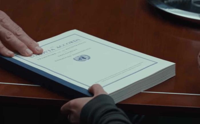 是《美國隊長3:英雄內戰》未上映,先看解讀這篇文章的首圖