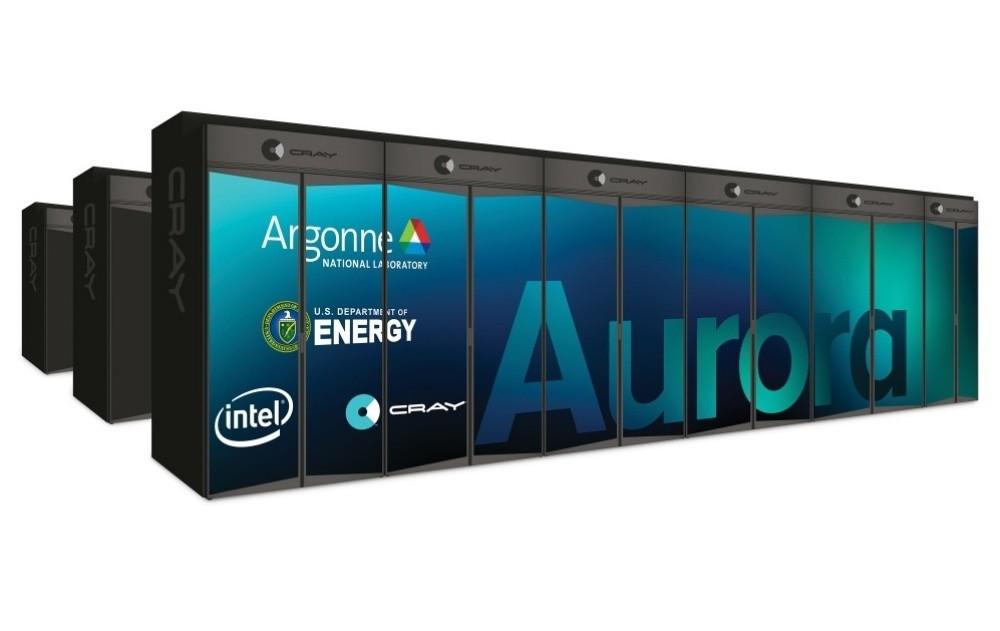 是Intel將打造全美首座每秒一百萬兆次運算量等級超級電腦「Aurora」這篇文章的首圖