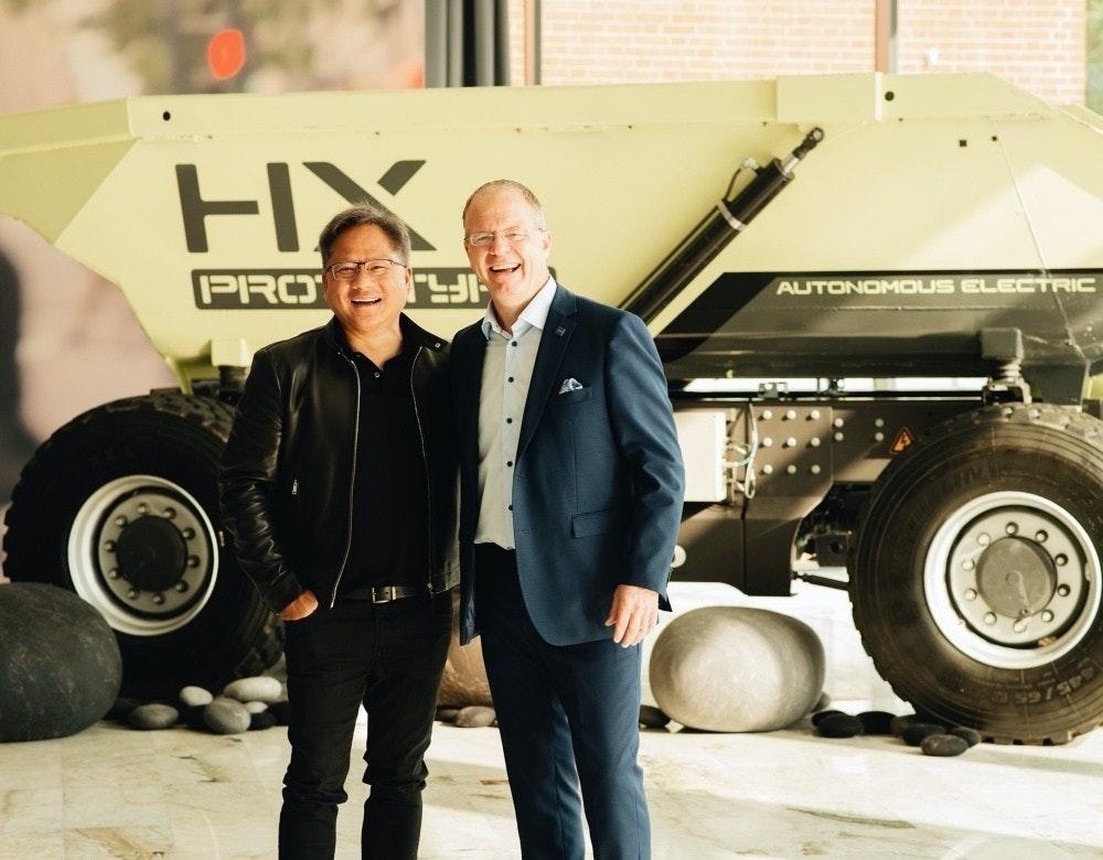 是NVIDIA攜手Volvo打造自駕卡車,協助傳統運輸業轉型這篇文章的首圖