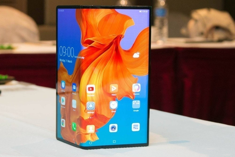 是華為內部人員透露螢幕可凹折手機Mate X將延後至9月推出這篇文章的首圖