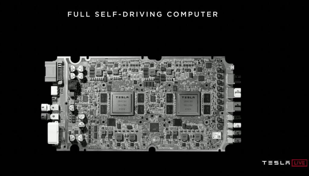 是Tesla建造自有自駕專用處理器晶片 預計明年開始推行自駕計程車服務這篇文章的首圖