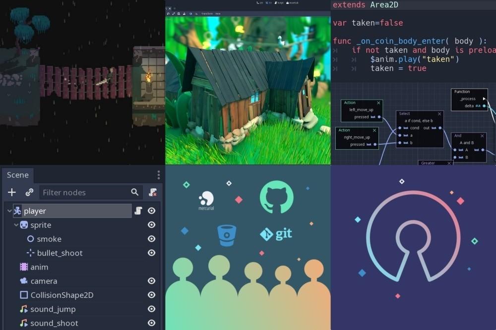 是Mozilla投資開源遊戲引擎Godot,讓開發者更容易打造網頁遊戲這篇文章的首圖