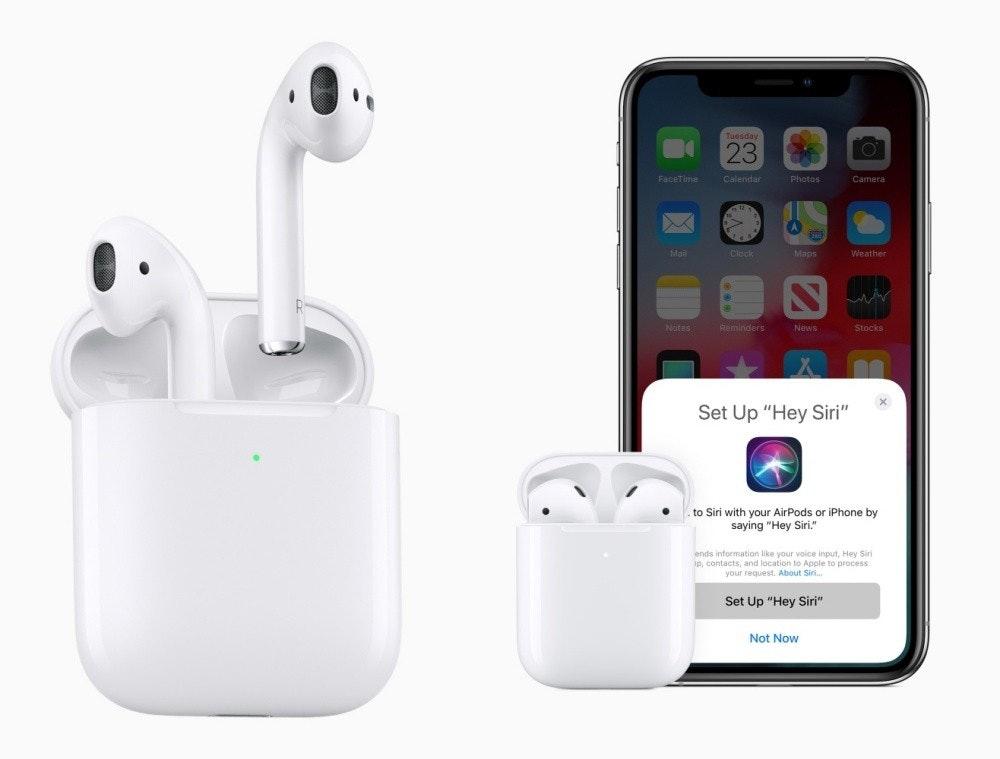 是市場分析認為蘋果今年將推出兩款全新AirPods,預計年底量產這篇文章的首圖