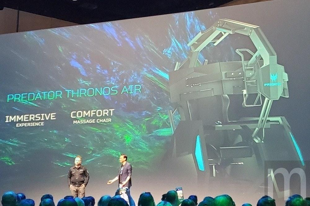 是讓玩家更享受遊戲,宏碁將Predator電競座艙加上按摩放鬆功能這篇文章的首圖