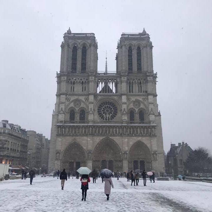 是850年巴黎聖母院遭惡火燒毀,4點告訴你其歷史意義這篇文章的首圖