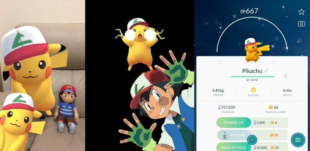 是《Pokémon GO》將可在4/1捕獲「小智帽子的皮卡丘」這篇文章的首圖