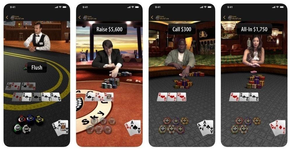 是慶祝App Store營運超過10週年,蘋果再次推出自製遊戲《德州撲克》這篇文章的首圖