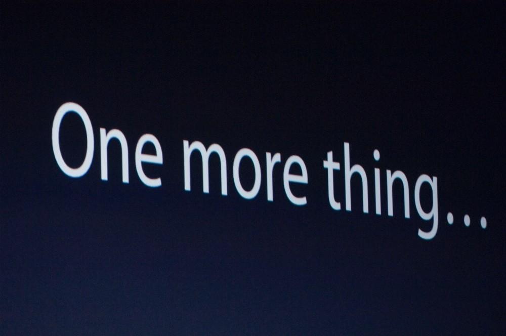 是蘋果因為「One More Thing」輸掉與Swatch的法院訴訟這篇文章的首圖
