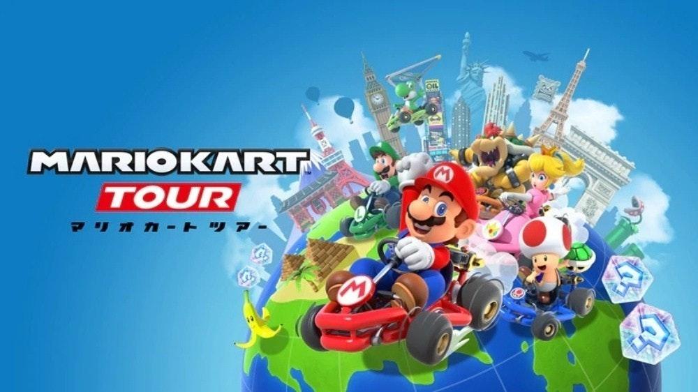 是任天堂新款手機遊戲 《瑪利歐賽車巡迴賽》將於9/25上線這篇文章的首圖