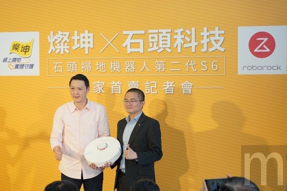 是燦坤3C攜手石頭科技獨家推出石頭掃地機器人第二代機種S6,清理能力更高這篇文章的首圖