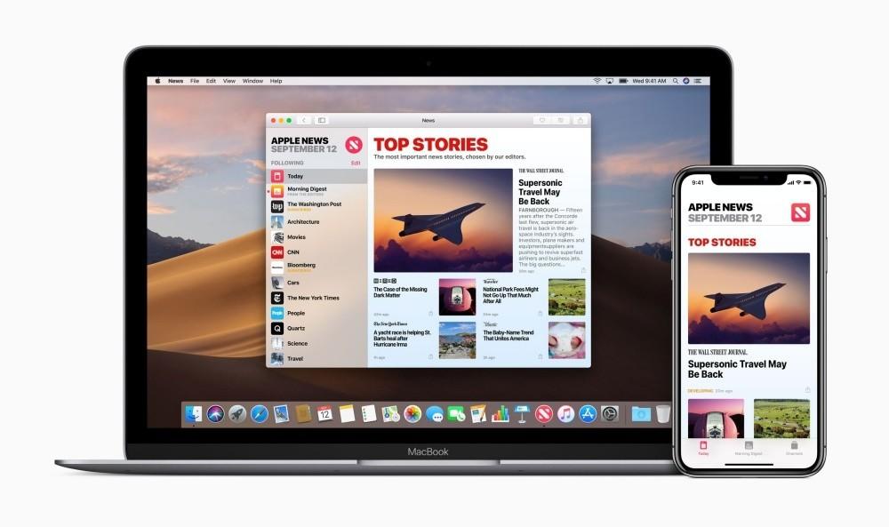 是搭配全新串流影音服務推出,蘋果新聞訂閱服務可能更名這篇文章的首圖