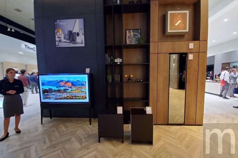 是LG全新概念家電設計,將電視、冰箱「隱藏」在傢具擺設這篇文章的首圖