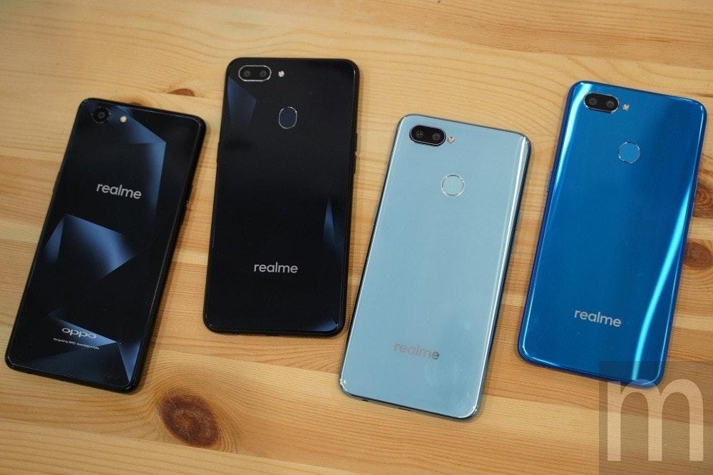 是與OPPO產品區隔、追求自我表現,realme品牌手機預計5月正式登台這篇文章的首圖