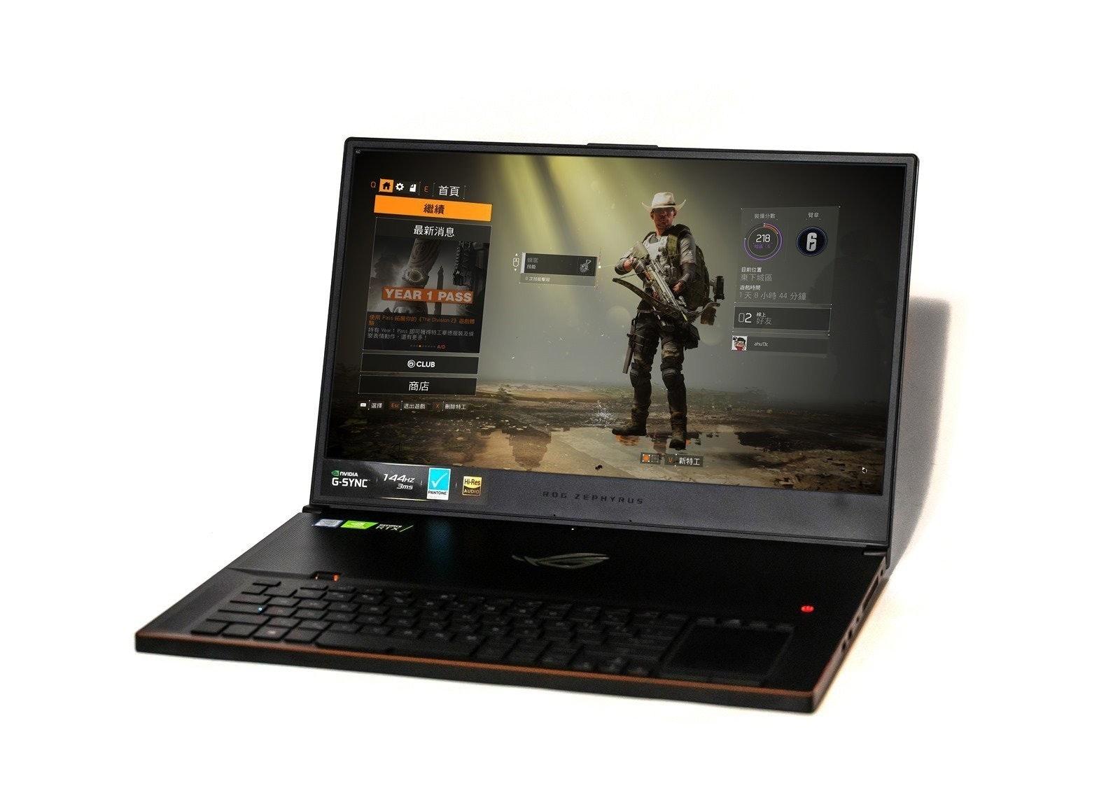 是最強最薄!新一代 ASUS ROG Zephyrus S GX701 帶來 RTX 最強顯卡的世界最薄 17 吋電競筆電!這篇文章的首圖
