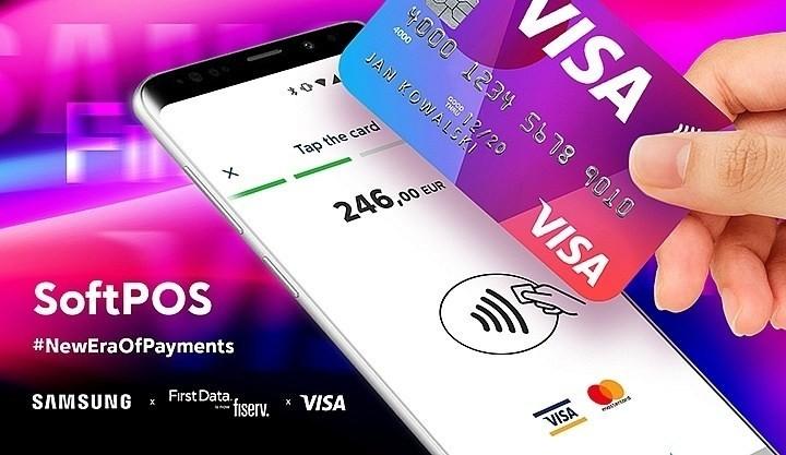 是First Data攜手Visa用三星手機打造更便利的行動收款裝置這篇文章的首圖