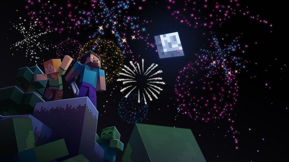 照片中跟哈根達斯有關,包含了我的世界、我的世界、Minecraft:袖珍版、我的世界地下城、我的世界地球