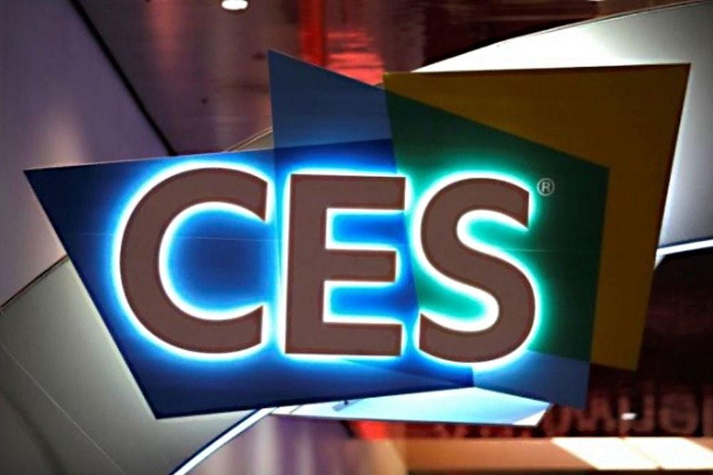 照片中提到了CES,跟消費者技術協會有關,包含了消費電子展、消費電子展、拉斯維加斯、展覽、2020年