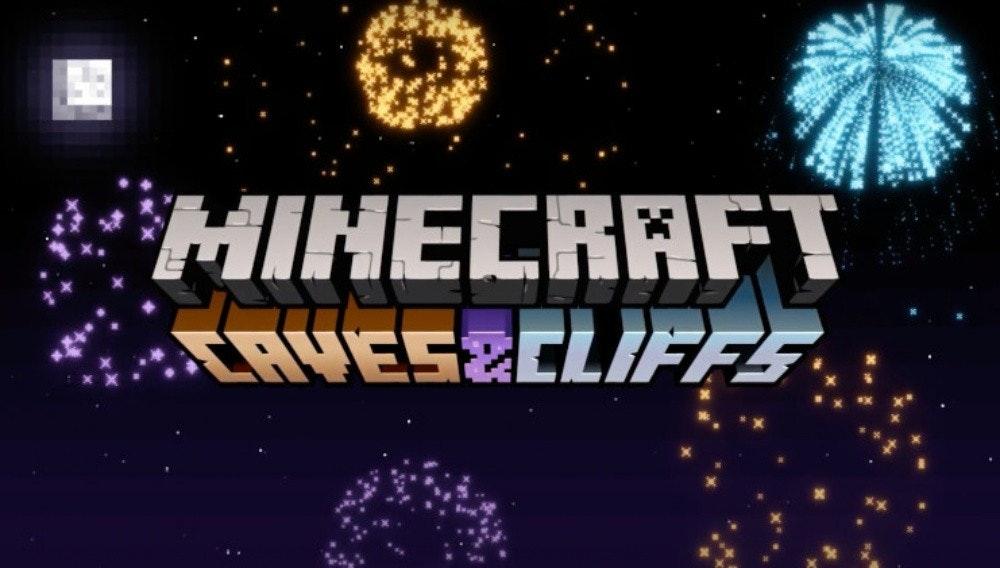 照片中提到了HINECRAFT、TAYES&CLIFFS.,包含了我的世界、我的世界、Minecraft Live、Mojang Studios、流行文化怪獸