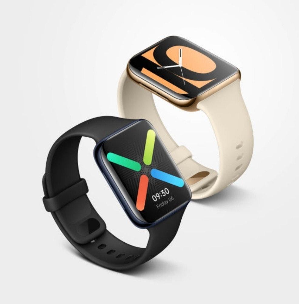 照片中提到了09:30、Friday 06,跟Oppo有關,包含了oppo智能手錶、OPPO Find X2、蘋果手錶系列5、智能手錶