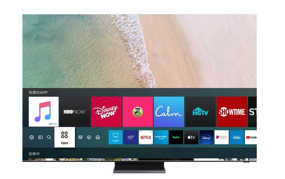 照片中提到了推薦的APP、DISNEY、NOW,跟HGTV、平靜有關,包含了蘋果音樂、蘋果音樂、蘋果、流媒體、蘋果電視