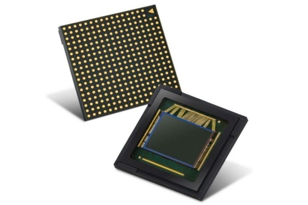 照片中包含了三星64 mp傳感器、圖像傳感器、三星、傳感器、像素點