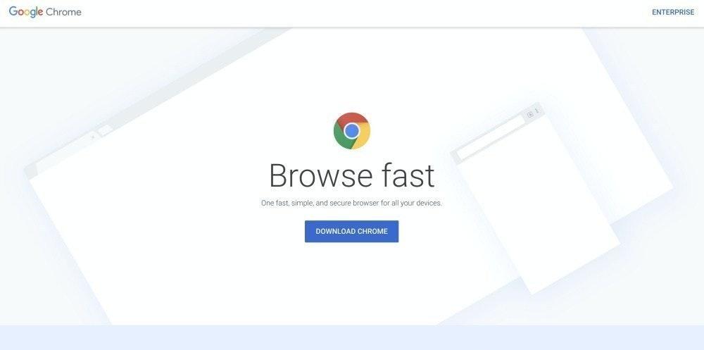 照片中提到了Google Chrome、ENTERPRISE、Browse fast,跟Chromebook、谷歌有關,包含了網站、谷歌瀏覽器、網頁瀏覽器、鉻、微軟邊緣