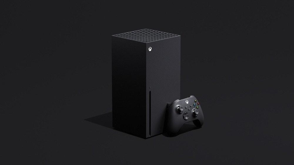 照片中包含了Xbox系列X、微軟Xbox One S、微軟Xbox One X、Xbox系列X、微軟