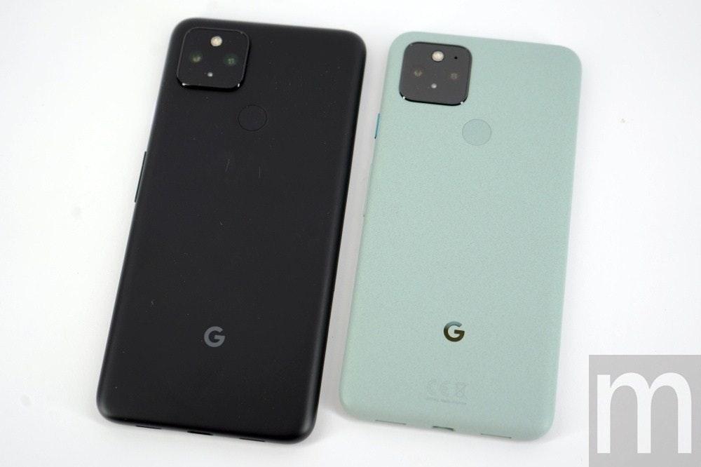 照片中提到了G、G、m,包含了功能手機、像素5、Google Pixel 4a(5G)、便攜式通訊設備、功能手機