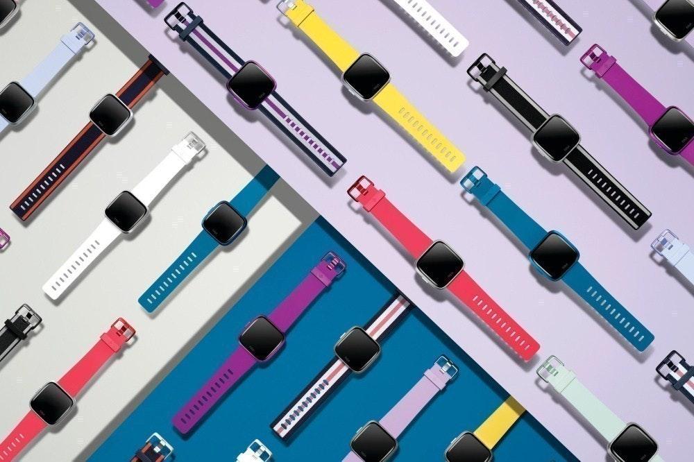 照片中提到了0000000、- 重重,包含了智能手錶、Fitbit Versa精簡版、Fitbit Versa 2、智能手錶、Fitbit