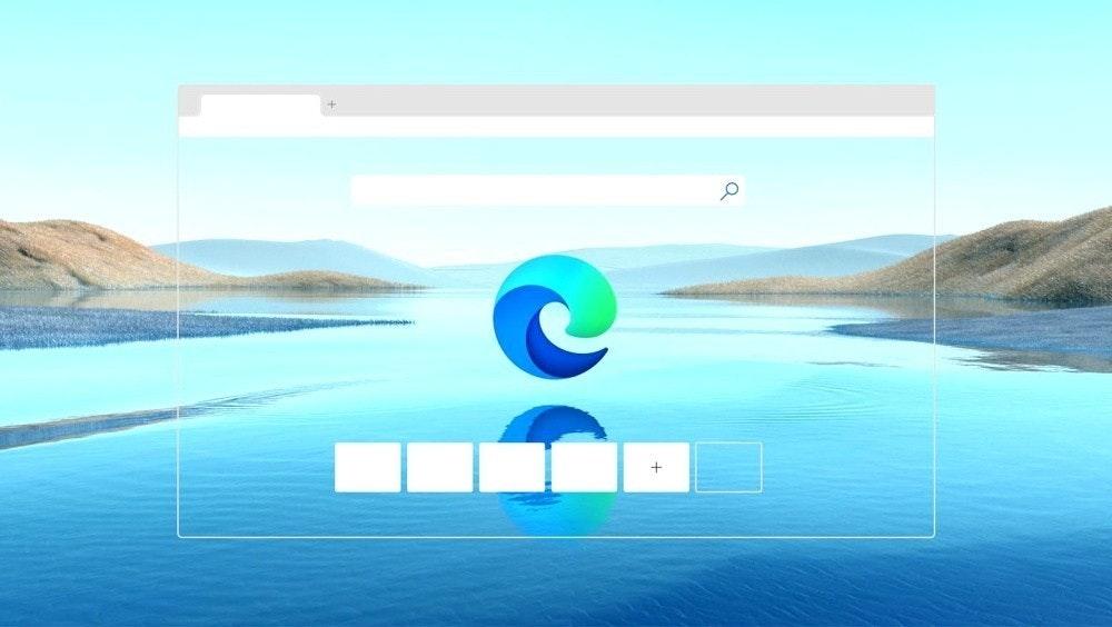 照片中跟海岸海岸有關,包含了微軟現代教育、微軟邊緣、微軟公司、鉻、Windows 10