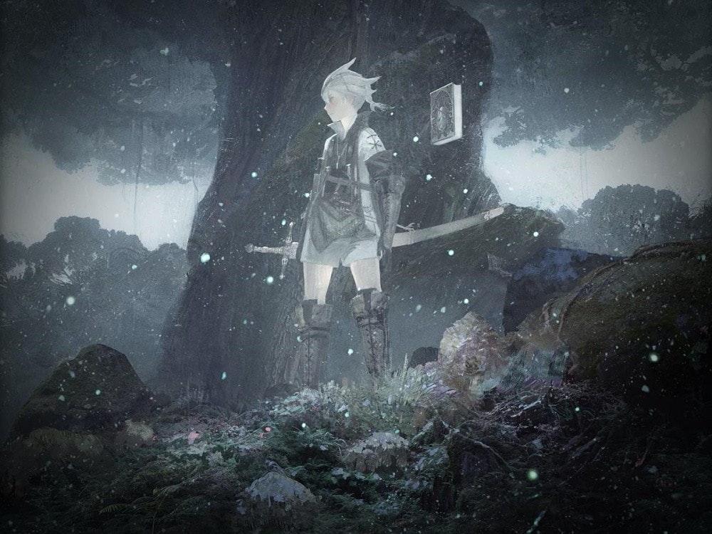 照片中包含了大氣層、尼爾、動作角色扮演遊戲、Square Enix公司、的PlayStation 4