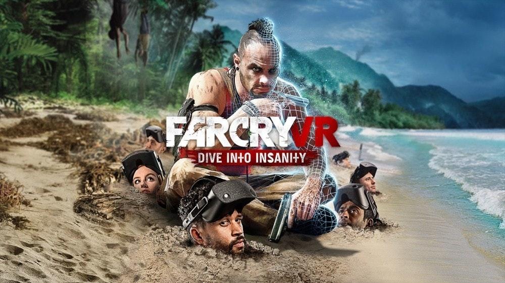 照片中提到了FARCRY R、DIVE IN+O INSANI+Y,跟相距甚遠有關,包含了孤島驚魂3、孤島驚魂3、孤島驚魂6、育碧