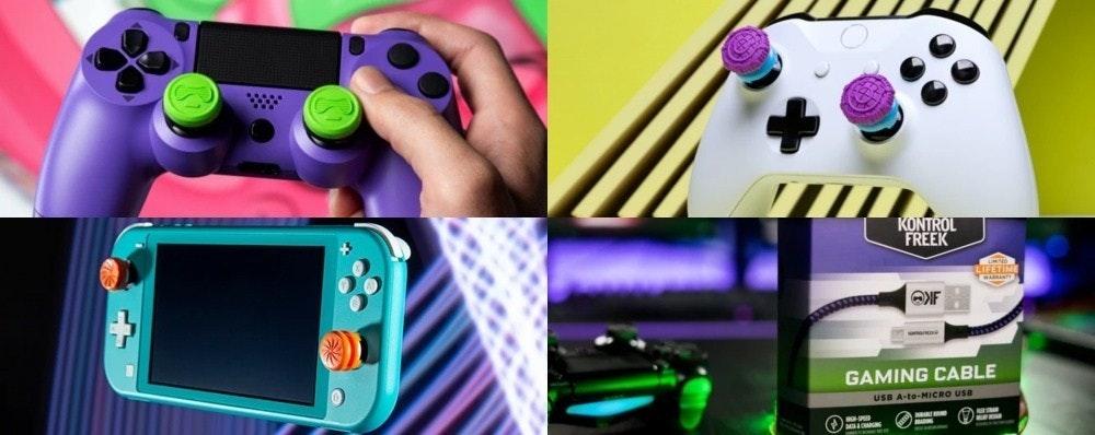 照片中提到了KONTROL、FREEK、LIFETIME,跟小狗Linux有關,包含了電子遊戲機、電子遊戲機、便攜式遊戲機配件、電子產品、產品設計