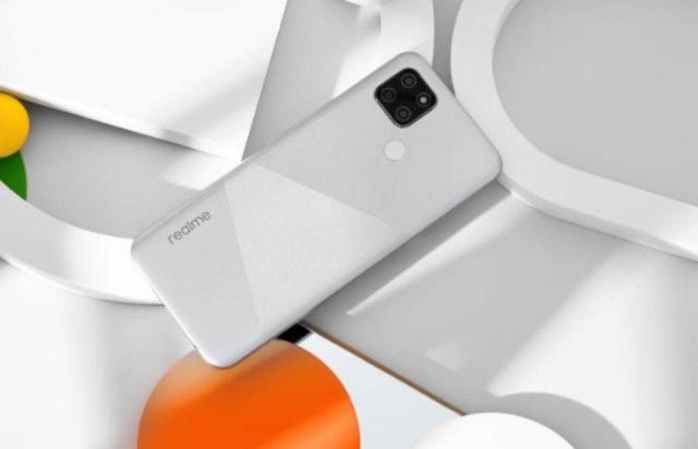 照片中提到了realme,包含了Realme v3 5克、5G、手機、Realme、Realme