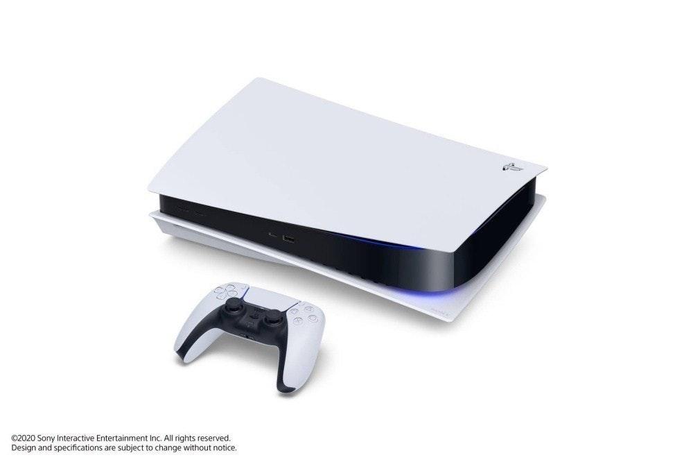 照片中提到了©2020 Sony Interactive Entertainment Inc. All rights reserved.、Design and specifications are subject to change without notice.,包含了PSP 3000、PlayStation便攜式、的PlayStation 4、Xbox One、的PlayStation 5