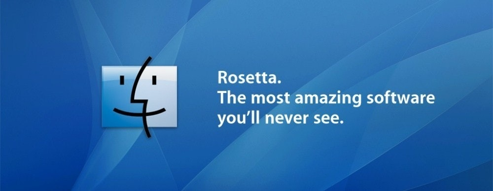 照片中提到了Rosetta.、The most amazing software、you'll never see.,跟C4有關,包含了蘋果電腦、蘋果機、蘋果系統、Mac OS X雪豹、羅塞塔