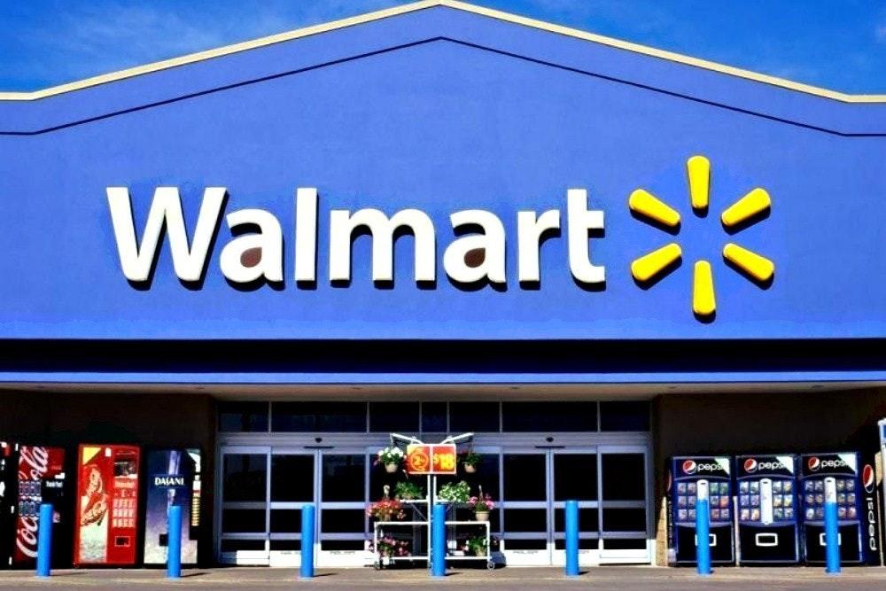 照片中提到了Walmart、Opeps、Opep,跟沃爾瑪有關,包含了沃爾瑪前面、零售、沃爾瑪加拿大、亞馬遜網