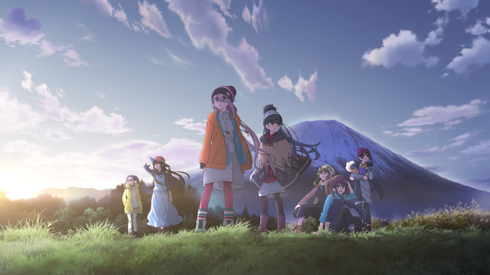 照片中包含了尤魯營背景、悠閒營、2019 Otakon、動漫、漫畫