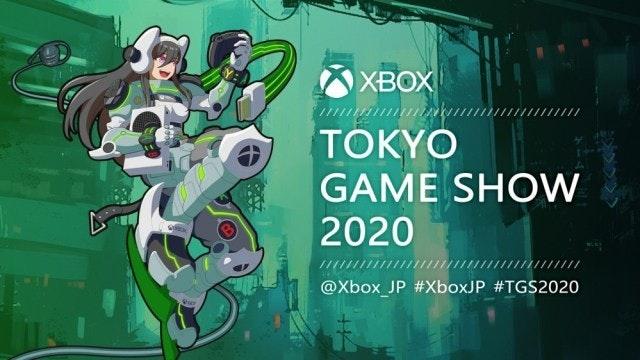 照片中提到了XBOX、TOKYO、GAME SHOW,跟的Xbox有關,包含了平面設計、東京電玩展2020、Xbox One、Xbox系列X和系列S、2020年東京電玩展