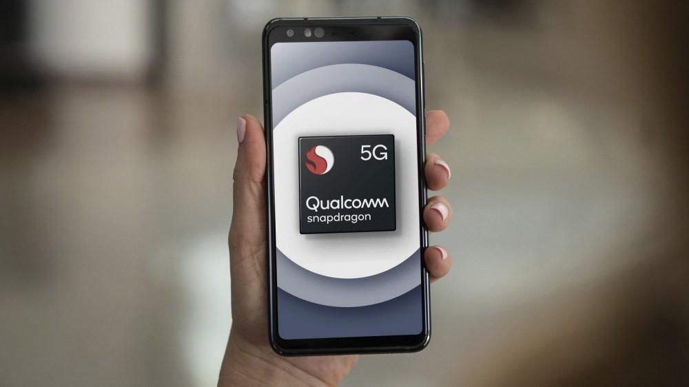 照片中提到了5G、Qualcomm、snapdragon,包含了金魚草400 5g、金魚草865、高通金魚草、高通公司、5G