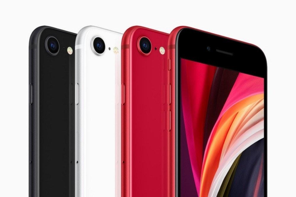 照片中包含了iPhone SE、手機、iPhone 11專業版、iPhone SE、蘋果iPhone 8