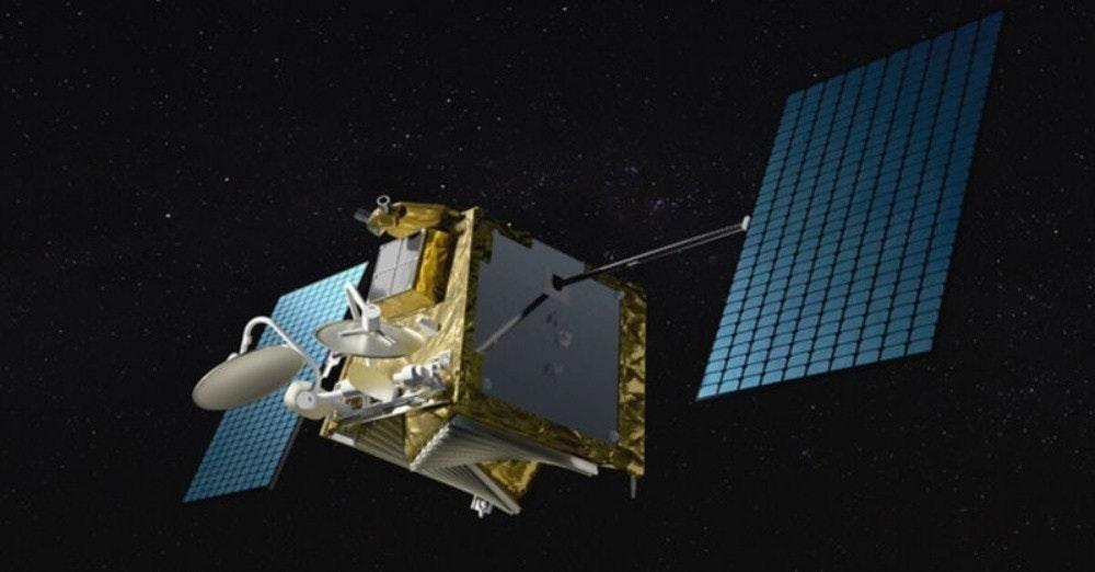 照片中包含了一網、低地球軌道、OneWeb、衛星、衛星星座