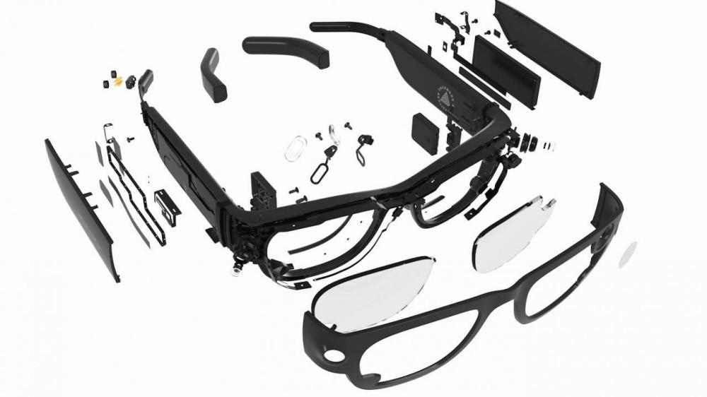 照片中提到了%3D,包含了雷朋智能眼鏡、雷朋、眼鏡、智能眼鏡、墨鏡