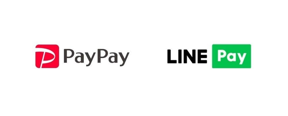 照片中提到了P PayPay、LINE Pay,跟Prima遊戲、線有關,包含了圖形、商標、產品設計、產品、牌