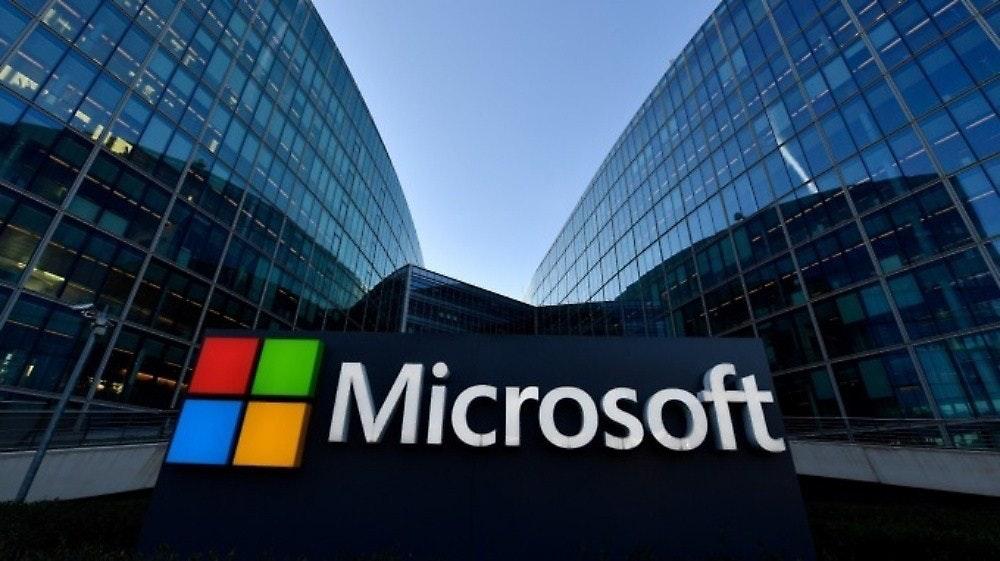 照片中提到了Microsoft,跟微軟公司有關,包含了微軟新聞、雲計算、Office 365、軟件