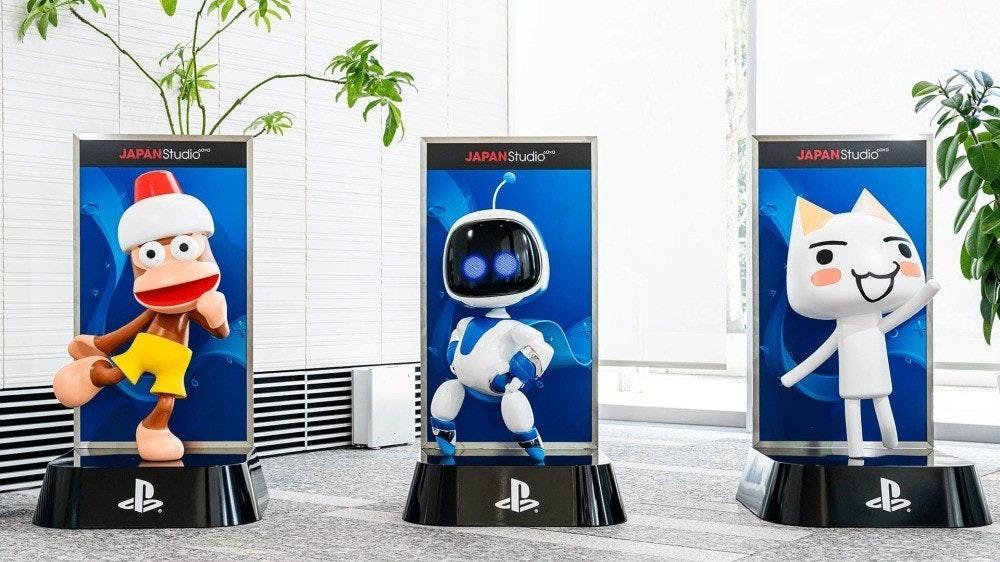 照片中提到了JAPANStudioo、JAPANStudio、JAPANStudio,跟的PlayStation、的PlayStation有關,包含了小工具、太空機器人救援任務、血源、退貨、日本工作室