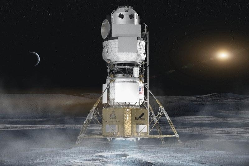 藍色起源正式控訴美國 NASA 太空總署跟 SpaceX 的合作採購涉及不公