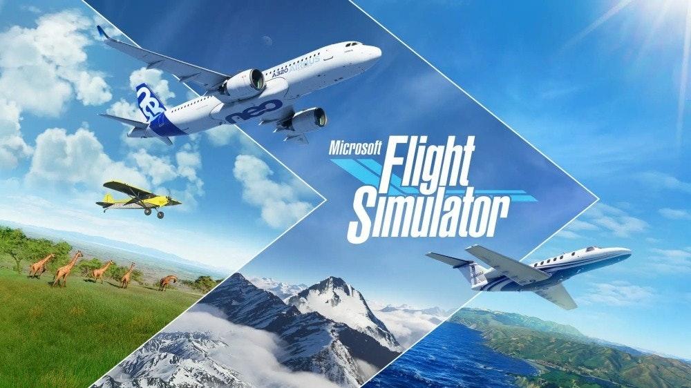 照片中提到了...、....、Flight,跟不可能的食物、全漢集團有關,包含了微軟飛行模擬器 2020 桌面版、微軟飛行模擬器、適用於 PC 的 Microsoft Xbox 遊戲通行證、飛行模擬器、的Xbox